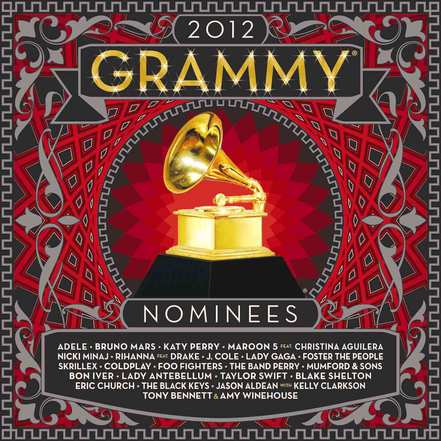 2012 GRAMMY NOMINEES (CD)